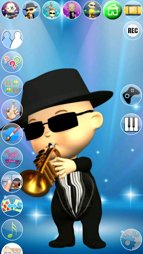 My Talking Baby Music Star screenshot 4