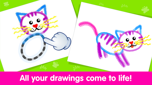 Toddler Drawing Academy🎓 Coloring Games for Kids screenshot 3