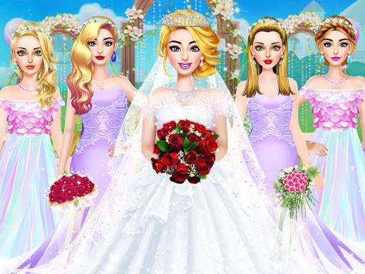 Fashion Wedding Dress Up Designer screenshot 10