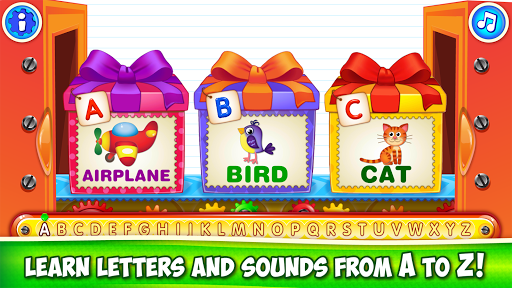 Baby ABC in box Kids alphabet games for toddlers screenshot 3