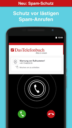 Das Telefonbuch with caller ID and spam protection screenshot 1
