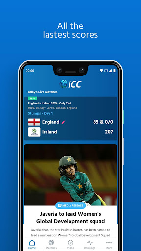 ICC - Live International Cricket Scores & News screenshot 3