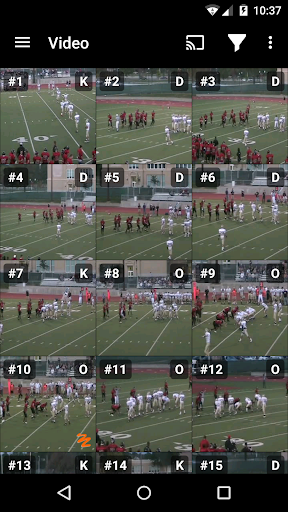 Hudl screenshot 5