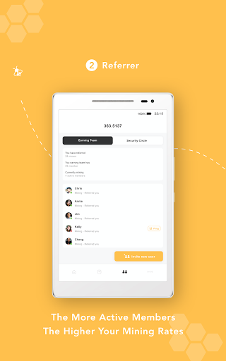 Bee Network:Phone-based Digital Currency screenshot 14