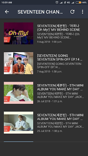Seventeen Lyrics (Offline) screenshot 6