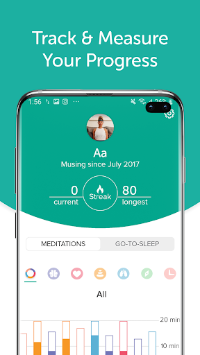 Muse: Meditation & Sleep Assistant screenshot 2