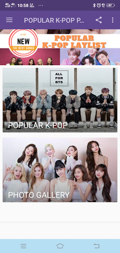 POPULAR K-POP PLAYLIST NEW screenshot 2