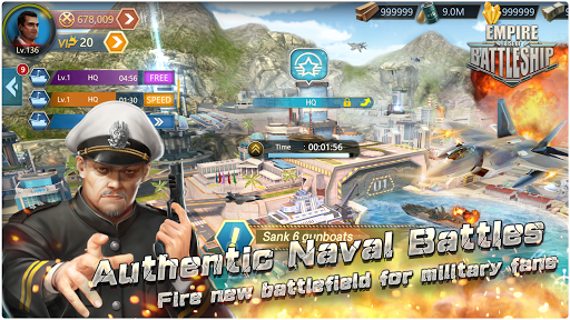 Empire: Rise Of BattleShip screenshot 1