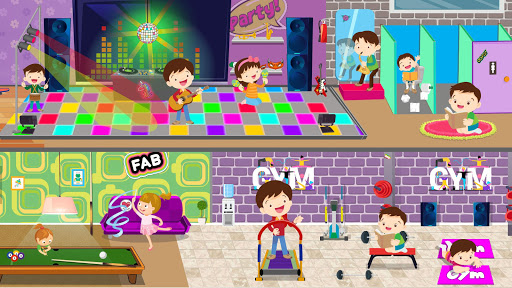 Pretend After School Life: Fun Town Learning Game screenshot 1