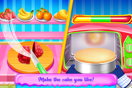 Christmas Doll Cooking Cakes & Desserts screenshot 2