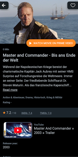 WhatsOnPrime? (What's new on Amazon Prime Video?) screenshot 2