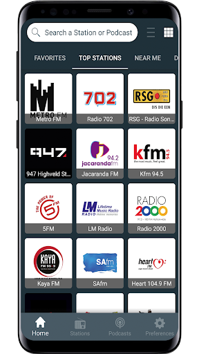 Radio South Africa screenshot 1
