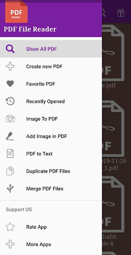PDF File Reader screenshot 1