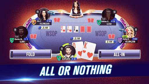 World Series of Poker WSOP Free Texas Holdem Poker screenshot 2