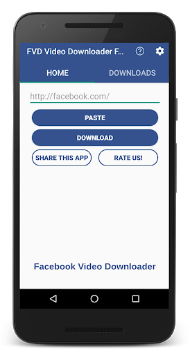 FVD Video Downloader For Facebook! FBDownloader screenshot 2