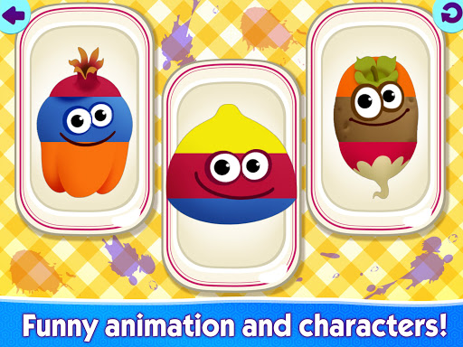 Funny Food educational games for kids toddlers 屏幕截图 12