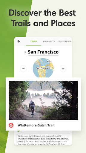 Komoot — Cycling, Hiking & Mountain Biking Maps 屏幕截图 7
