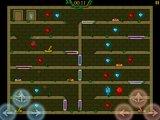 Fireboy & Watergirl in The Forest Temple screenshot 1