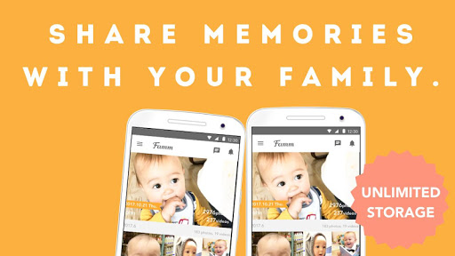 Famm - photo & video storage for baby and kids. screenshot 5