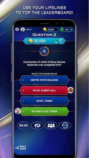 Who Wants to be a Millionaire screenshot 3