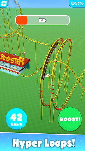Hyper Roller Coaster screenshot 3