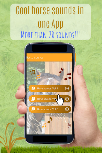 Horses Sounds for Cell Phone free. screenshot 1
