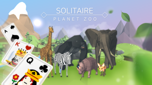 Solitaire : Planet Zoo screenshot 1