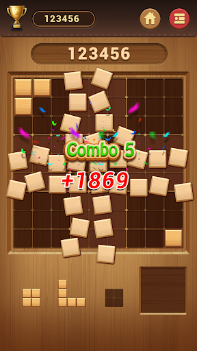 Wood Block Sudoku Game -Classic Free Brain Puzzle screenshot 6