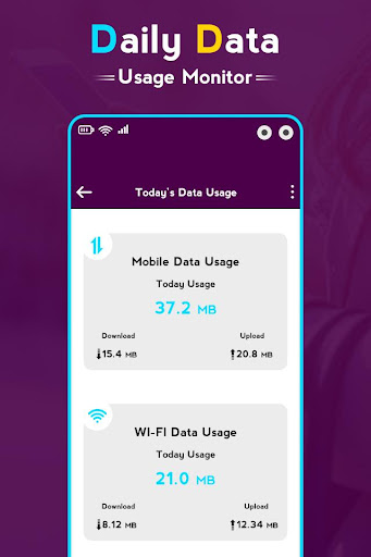 Daily Data Usage Monitor screenshot 3