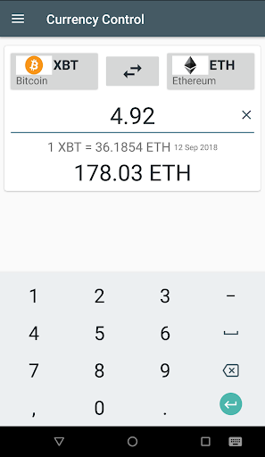 Currency Control-THE Converter screenshot 5