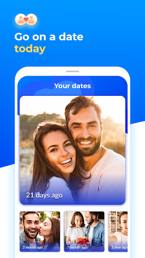 Dating with singles nearby - iHappy screenshot 1