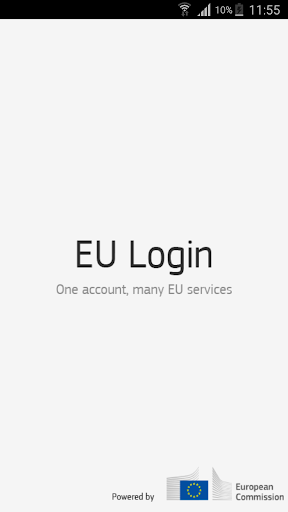 EU Login screenshot 1