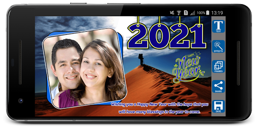2021 Newyear Photo Frames screenshot 1