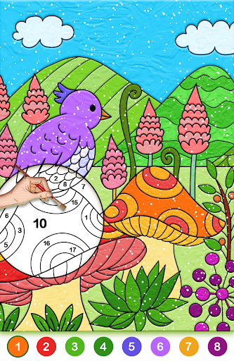 Color by number free screenshot 7