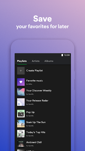 Spotify Lite screenshot 4