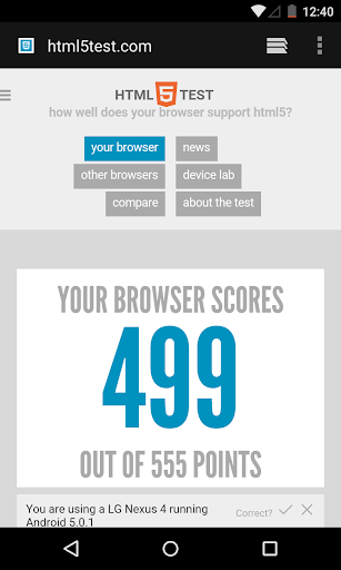 Android System WebView Dev screenshot 1