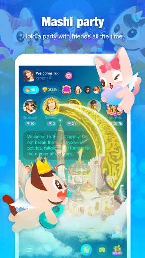 Mashi - Free Voice Chat Rooms , Party in the Room screenshot 4