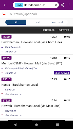 Kolkata Suburban Trains screenshot 8