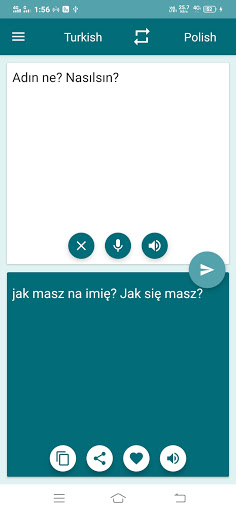 Polish-Turkish Translator screenshot 1