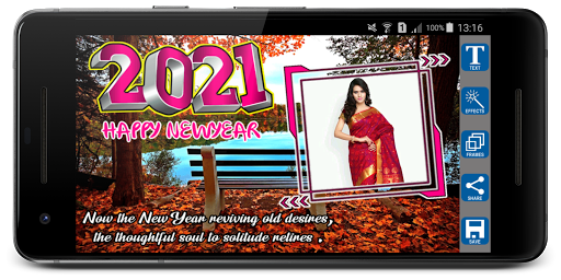 2021 Newyear Photo Frames screenshot 5