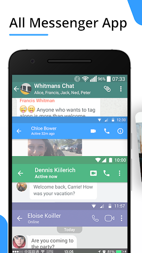 Messenger Pro for Messages, Video Chat for free screenshot 1