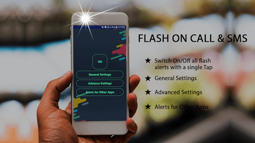 Automatic Flash on Call and SMS, LED Torch, Flash screenshot 2