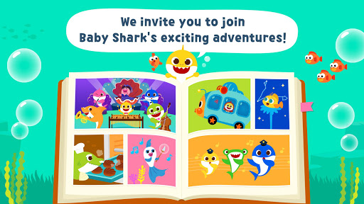 Pinkfong Baby Shark Storybook screenshot 1