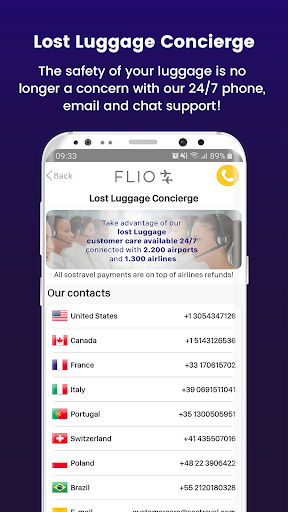 FLIO - Your personal travel assistant screenshot 8