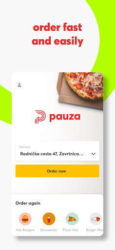 Pauza.hr Food Delivery screenshot 2