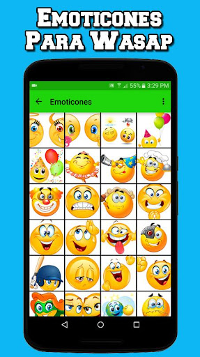 Big Emoticons For Whatsapp and Facebook Free screenshot 2
