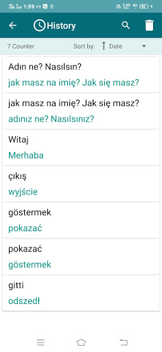 Polish-Turkish Translator screenshot 4