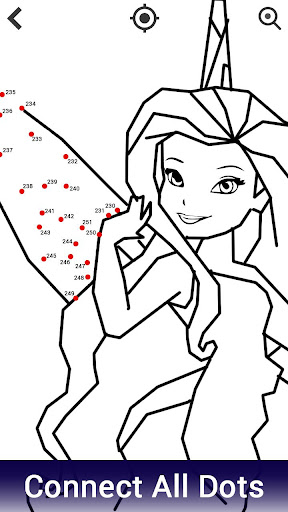 Dot to Dot to Glitter Coloring:Adult Coloring Book screenshot 2