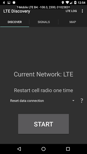 LTE Discovery screenshot 3