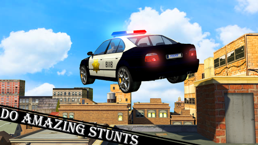 Police Car Stunt screenshot 7